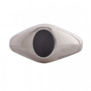Small Black onyx stone signet ring