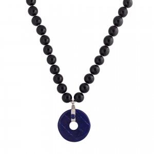 Blue Lapis stone necklace